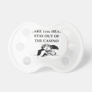chiste del casino chupetes para bebés