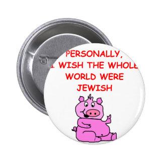 chiste del cerdo chapa redonda 5 cm