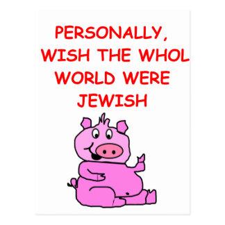 chiste del cerdo postal