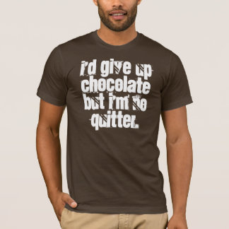chiste del chocolate playera
