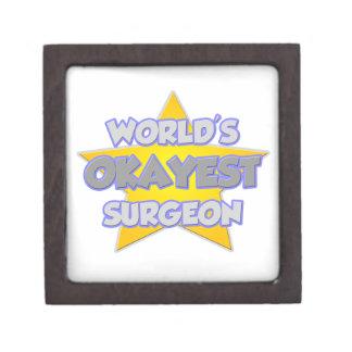 Chiste del cirujano de Okayest del mundo… Cajas De Recuerdo De Calidad