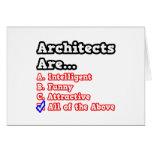 Chiste del concurso de los arquitectos… tarjetas