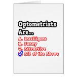 Chiste del concurso de los optometristas… tarjeta