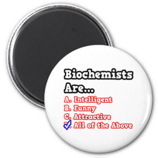 Chiste del concurso del bioquímico… imán redondo 5 cm