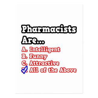Chiste del concurso del farmacéutico… postal