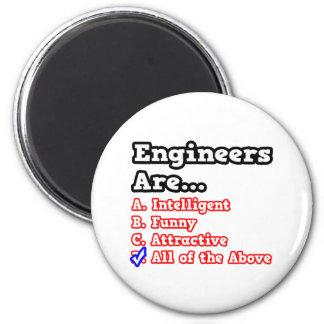 Chiste del concurso del ingeniero… imán redondo 5 cm