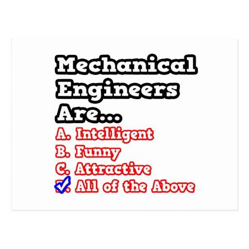 Chiste del concurso del ingeniero industrial… tarjetas postales