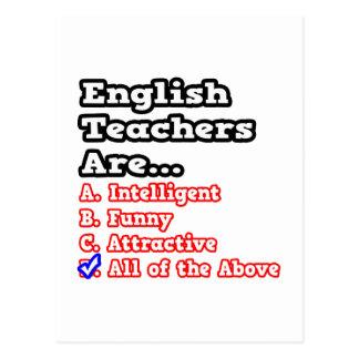 Chiste del concurso del profesor de inglés… tarjeta postal