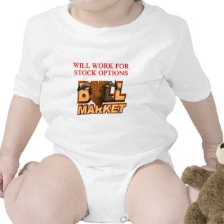 Chiste del cramer del mercado de ACCIÓN Trajes De Bebé