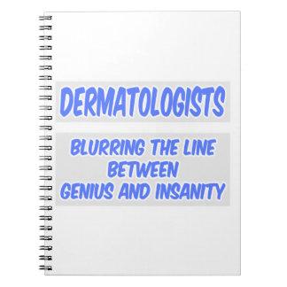 Chiste del dermatólogo. Genio y locura Libreta