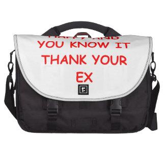 chiste del divorcio bolsas de ordenador
