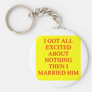 chiste del divorcio llavero personalizado