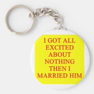 chiste del divorcio llaveros