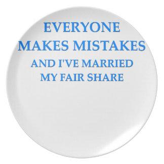 chiste del divorcio plato