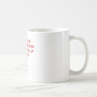 chiste del divorcio taza básica blanca