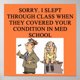chiste del doctor poster