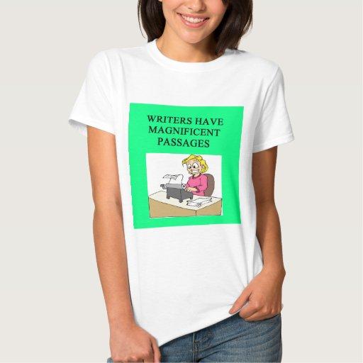 Chiste del ESCRITOR y del autor Camisetas