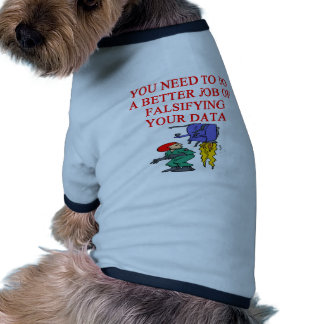 chiste del friki de la ciencia camisa de mascota