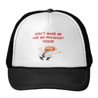 chiste del gato de los schrodinger gorra