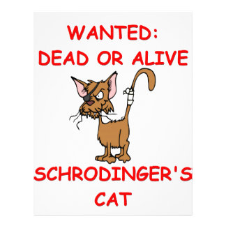 chiste del gato de los schrodinger membretes personalizados