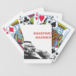 chiste del genio cartas de juego