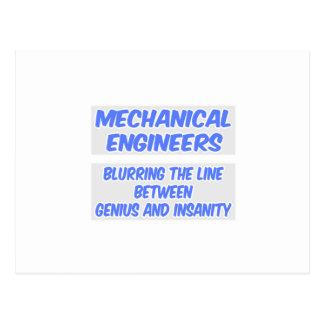 Chiste del ingeniero industrial. Genio y locura Postales
