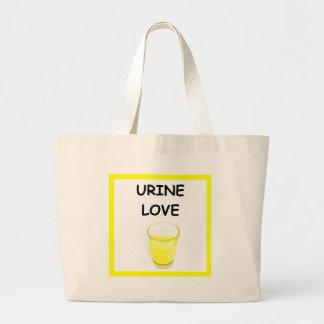 chiste del laboratorio bolsas lienzo