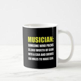 Chiste del músico taza