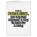 Chiste del Paralegal. Bebida para una vida Felicitaciones