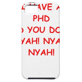 Chiste del PHD Funda Para iPhone SE/5/5s