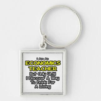 Chiste del profesor de la economía. Bebida para un Llavero Personalizado
