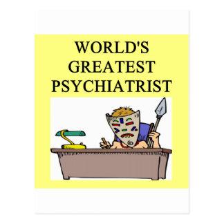 chiste del psiquiatra de la psiquiatría postal