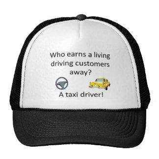 Chiste del taxi gorros bordados