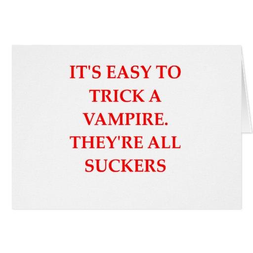 chiste del vampiro felicitación