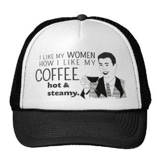 Chiste divertido de la taza de café para los gorras de camionero