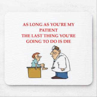 chiste divertido del doctor alfombrilla de ratones