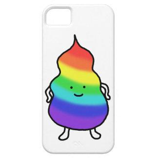 Chiste divertido del impulso del arco iris del iPhone 5 carcasa