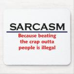 Chiste divertido del sarcasmo del KRW Mousepad