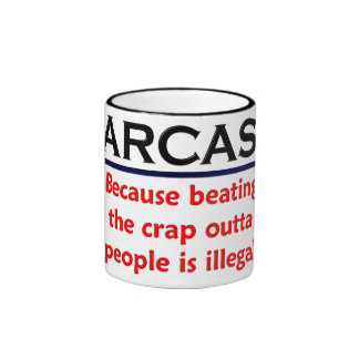 Chiste divertido del sarcasmo del KRW Taza De Café