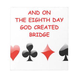 chiste duplicado del puente bloc