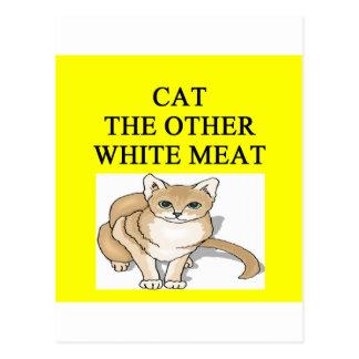 chiste enfermo del enemigo del gato postales