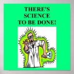 chiste enojado del científico impresiones