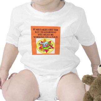 chiste estúpido del phd trajes de bebé