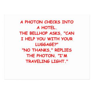 chiste ligero tarjetas postales