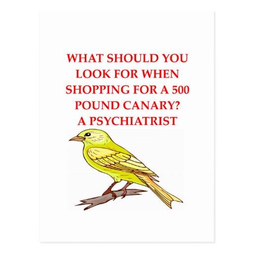 chiste loco del psiquiatra postales