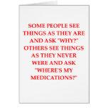 chiste loco del psiquiatra tarjetas