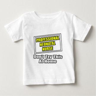 Chiste neonatal profesional de la enfermera… camisetas