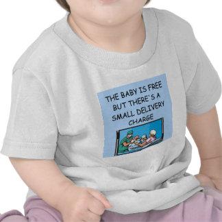 chiste obstetrian camisetas