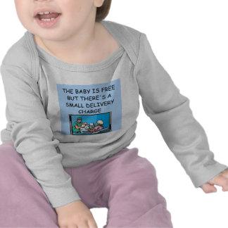 chiste obstetrian camiseta