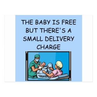 chiste obstetrian postales